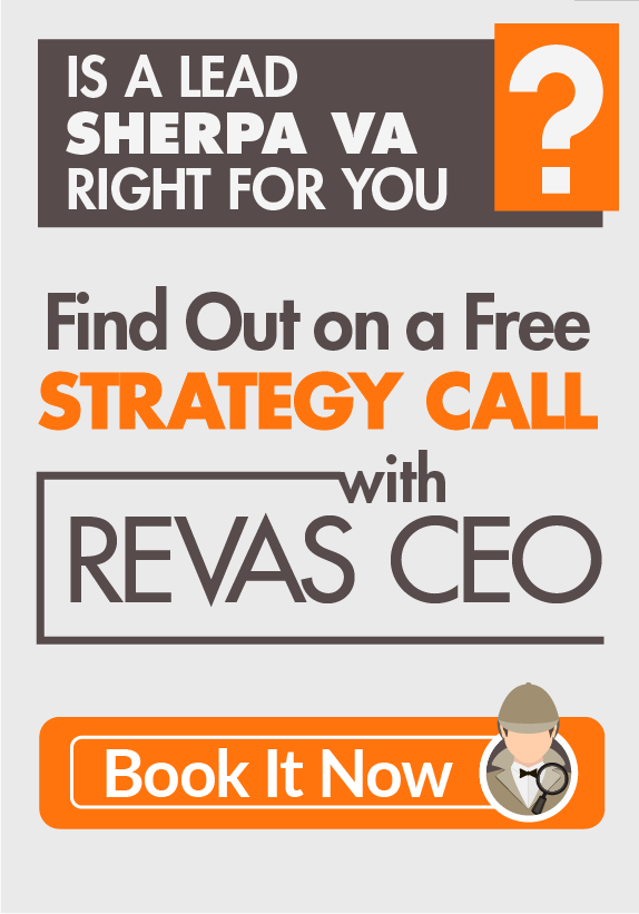 Request a Free Strategy Call to Discuss Setting Up a Lead Sherpa Virtual Assistant